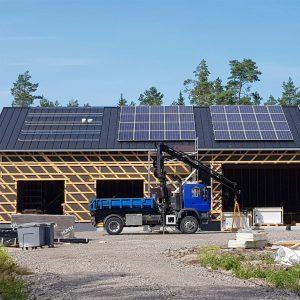 Aurinkosähkö - Satakunnan Sähkötalo